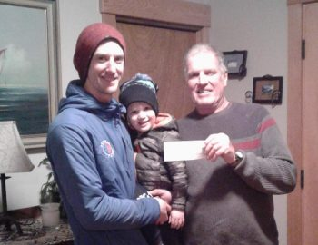Avalanche Bursary awarded to Eric Pearson