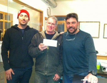 FSA donates to Harvey Pass Warming Hut