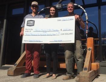 Fernie Brewing Donates