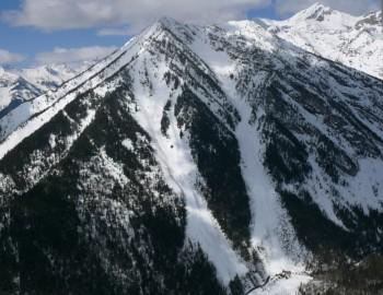 NE Slidepath on Fernie Mountain