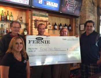 Fernie Hotel Meat Draw Donation