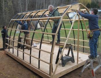 Tunnel Creek Cabin Progress