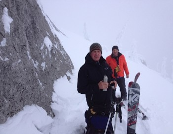 Ski Touring as good as it gets in December