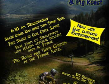 Porky Blue Group Ride and Pig Roast