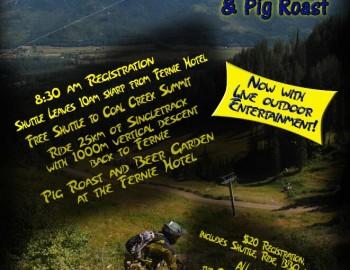 Porky Blue Group Ride and Pig Roast