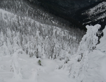 Skiers rescued from Lost Boys Pass
