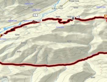 Coal Creek – Porky Blue – Coal Discovery Trail (45km)