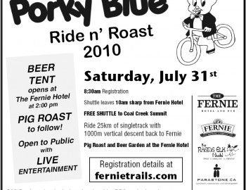Porky Blue Ride and Roast July 31