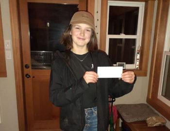 Savannah Cash Receives Avalanche Bursary