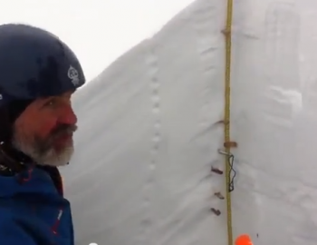 Test results on a critical avalanche layer