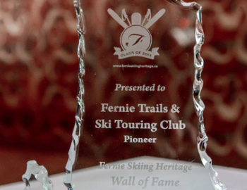 FT&STC inducted to Fernie's Ski Wall of Fame