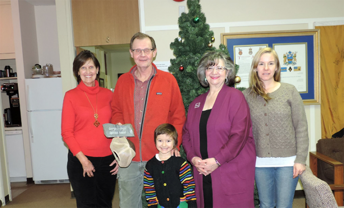George S. Majic Spiritus Award!