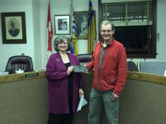 Gilmar receives George S. Majic Spiritus Award