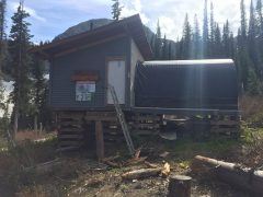 Tunnel Creek Hut Update