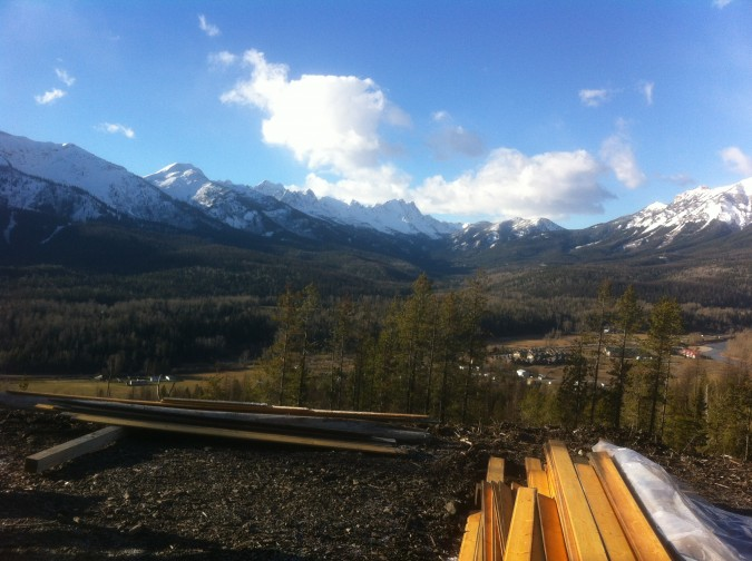 montave cabin view