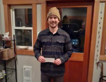 Sam Higgins awarded Bursary for Avalanche Operations Level 1